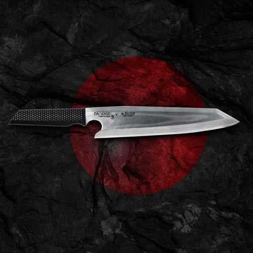 de Buyer Dai Sensei Messer mit Griff aus Carbonfaser