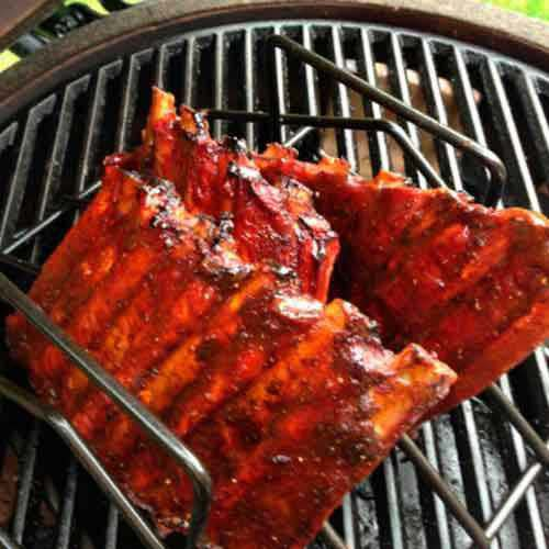 Spareribs Grillen mit dem Big Green Egg