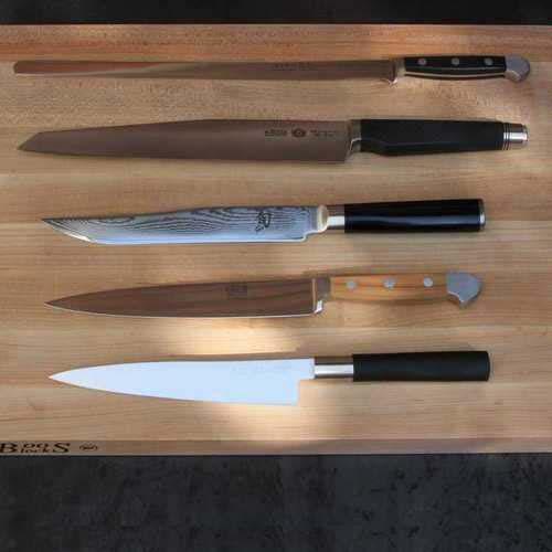 Unsere TOP 5 der Küchenmesser für Euren Messerblock