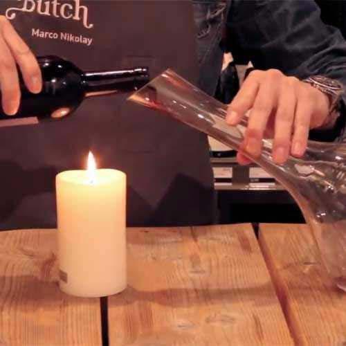Wein richtig dekantieren