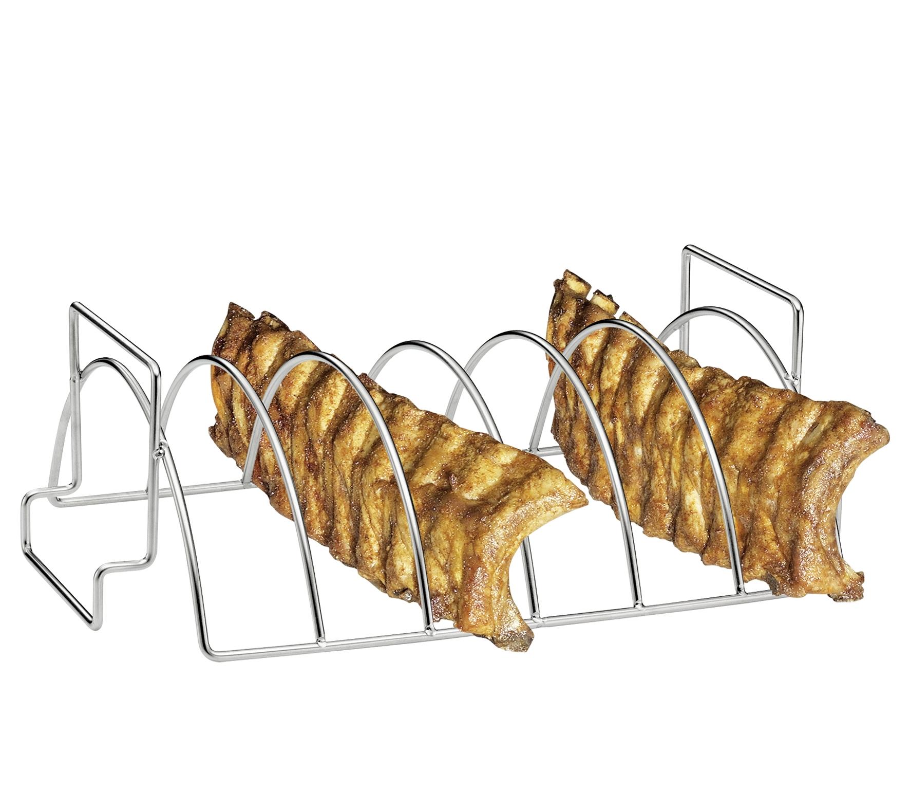 Küchenprofi Spareribs und Braten Rack für 6 Spa...