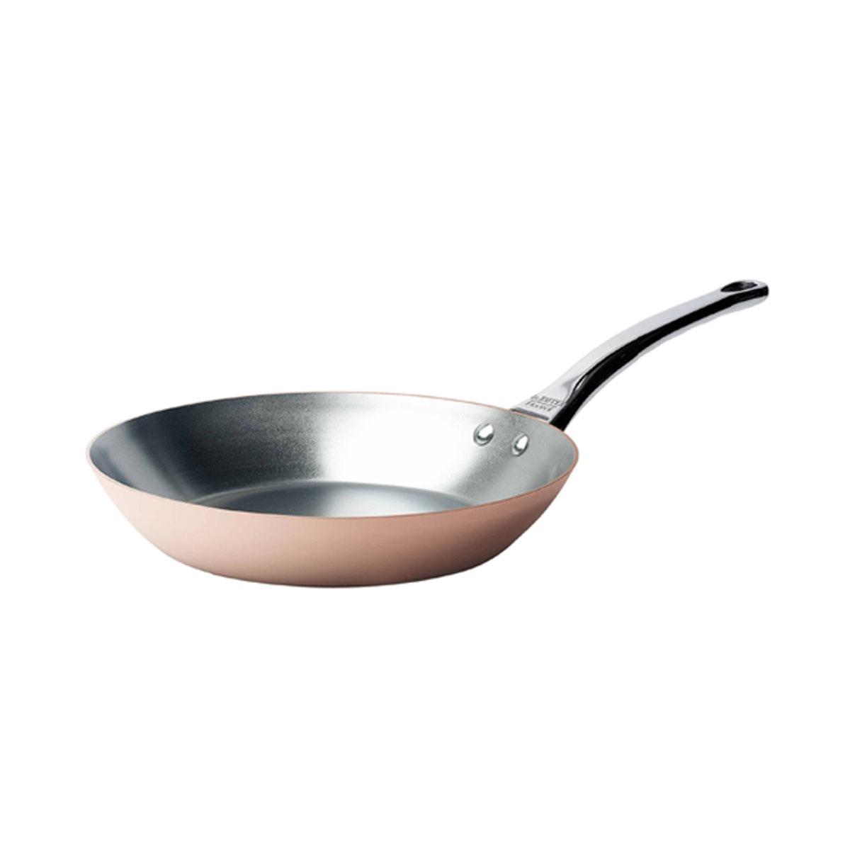 de Buyer Inocuivre Pfanne 28 cm / Kupfer mit Edelstahlgussgriff | Küche und Esszimmer > Kochen und Backen | De Buyer