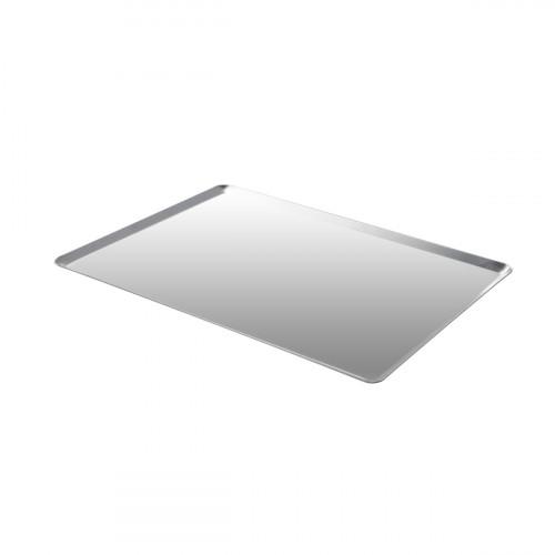 de Buyer Patisserie Backblech 40x30 cm mit schrägen Kanten / aus poliertem Edelstahl