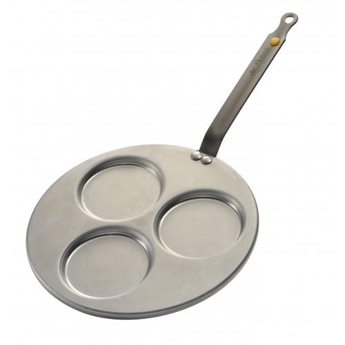 de Buyer Blinis-Pfännchen - Ø 27 cm - für 3 Blinis Ø10 cm