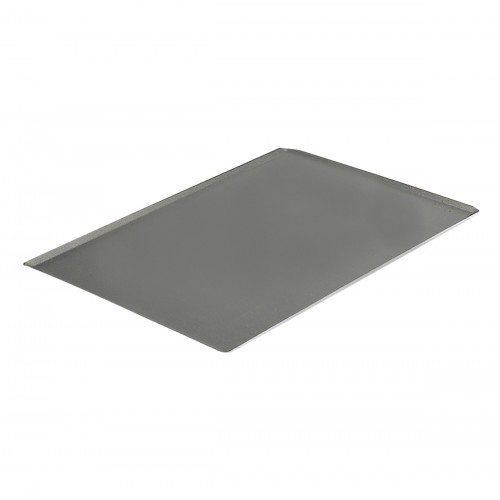 de Buyer Patisserie Backblech 40x30 cm mit schrägen Kanten / aus Aluminium mit Antihaftbeschichtung