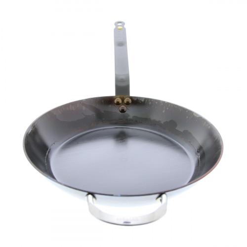 eingebrannte de Buyer Mineral B Element Pfanne 36 cm / Eisen
