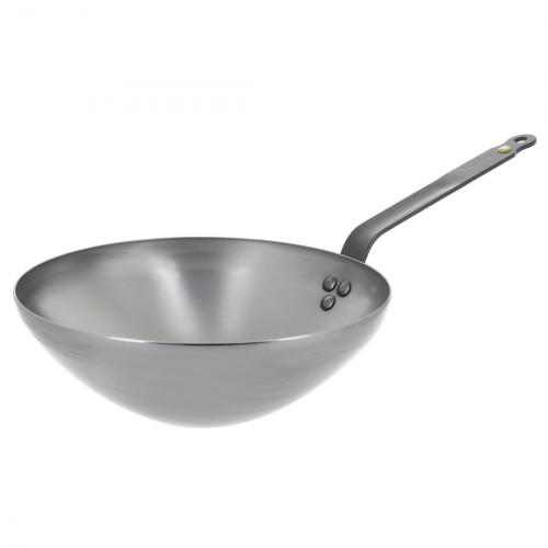 de Buyer Mineral B Element Wok 24cm 5618.24 aus Eisen