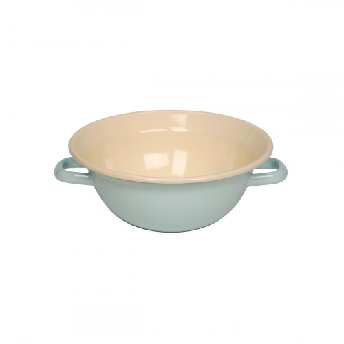 Riess Classic Bunt Pastell Weitling 22 cm / 2,0 l türkis - Emaille