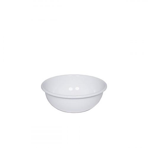 Riess Classic Weiss Küchenschüssel 12 cm aus Emaille