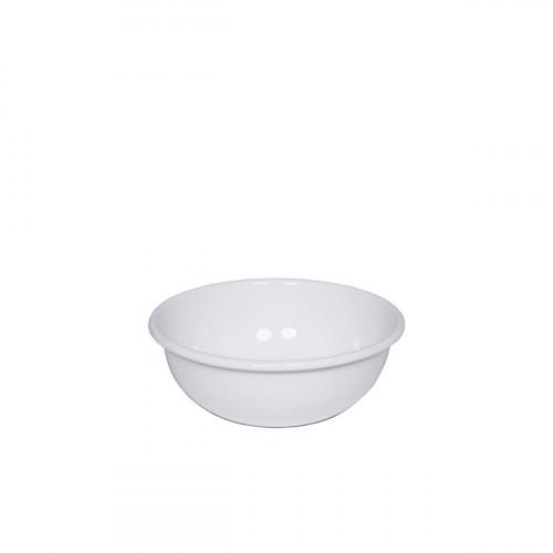 Riess Classic Weiss Küchenschüssel 14cm aus Emaille