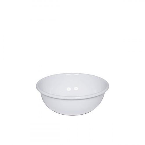 Riess Classic Weiss Küchenschüssel 18cm aus Emaille