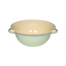 Riess Classic Bunt Pastell Weitling 36 cm / 9,0 L nilgrün - Emaille