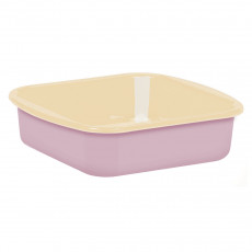 Riess Classic Bunt Pastell Mini-Backofenform 24,8x20 cm rosa - Emaille