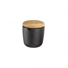 skeppshult swing s gewürzbehälter gusseisen eichenholz
