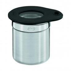 Rösle Dose 6,5 cm / 0,1 L mit Frischhaltedeckel aus Glas