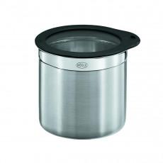 Rösle Dose 12,5 cm / 1,4 L mit Frischhaltedeckel aus Glas