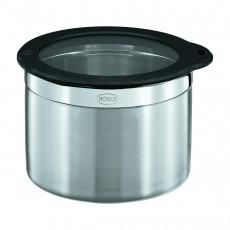 Rösle Dose 12,5 cm / 2,4 L mit Frischhaltedeckel aus Glas