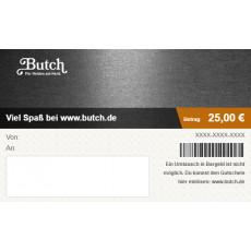 Geschenk-Gutschein über 25 Euro