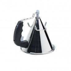 de Buyer Kwik automatischer Trichter 0,8 L - schwarz mit Untersatz