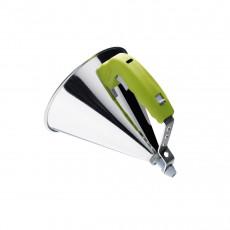 de Buyer Kwik automatischer Trichter 0,8 L - grün mit Untersatz