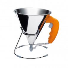 de Buyer Kwik automatischer Trichter orange 0,8 L mit Untersatz