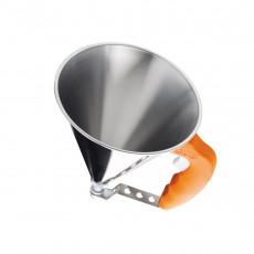 de Buyer Kwik automatischer Trichter 0,8 L - orange mit Untersatz