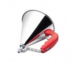 de Buyer Kwik automatischer Trichter 0,8 L - rot mit Untersatz