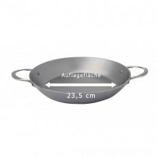 de Buyer Mineral B Paella Pfanne 32 cm - Eisen mit Bienenwachsbeschichtung - Henkelgriffen