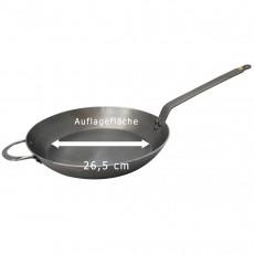 de Buyer Mineral B Pfanne 36 cm - Eisen mit Bienenwachsbeschichtung - Bandstahlgriff