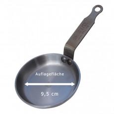 de Buyer Mineral B Blinis-Pfanne 12 cm - Eisen mit Bienenwachsbeschichtung - Bandstahlgriff