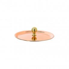 de Buyer Inocuivre VIP Deckel 10 cm / Kupfer mit rundem Messinggriff