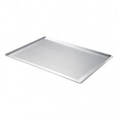de Buyer Patisserie perforiertes Backblech 40x30 cm mit schrägen Kanten / aus Aluminium