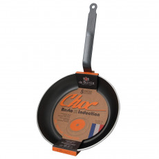 de Buyer Choc Resto Induction Crepes-Pfanne 26 cm mit Antihaftbeschichtung / Aluminium