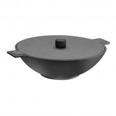 skeppshult noir wok 34 cm gusseisen