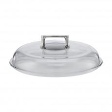 Rösle Silence Hochraum-Glasdeckel 28 cm - Borosilikat
