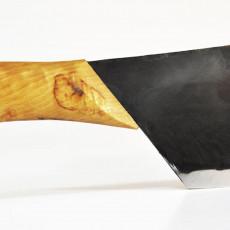 Nordklinge Messer Vankka Pieni 18 cm mit Originalschliff & Schmiedehaut
