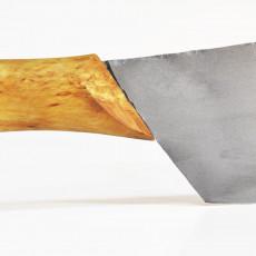 Nordklinge Messer Vankka Pieni 18 cm mit Extraschliff & sandgestrahlt