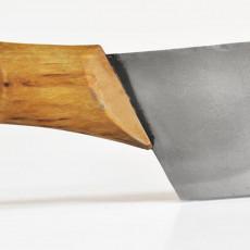 Nordklinge Messer Vankka Suuri 18,9 cm mit Extraschliff & sandgestrahlt