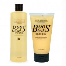 Boos Block Pflegeset 2-teilig Oil & Cream