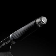 de Buyer FK 2 Lachsmesser 30 cm mit Kullen - CVM-Messerstahl - Griff Carbonfaserpolymer
