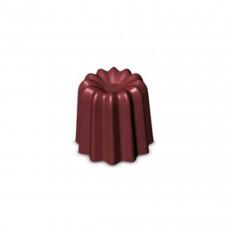 de Buyer Moulflex Silikonform für 28 geriffelte Mini-Bordelais / mit Antihaft-Eigenschaften