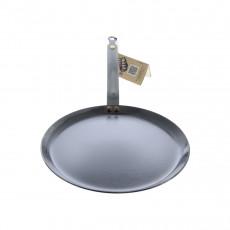 de Buyer Mineral B Crepes-Pfanne 24 cm eingebrannt - Eisen mit Bandstahlgriff