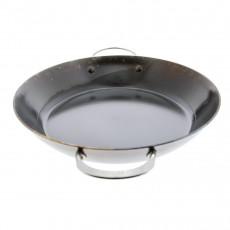 de Buyer Mineral B Paella Pfanne 32 cm eingebrannt - Eisen mit Henkelgriffen
