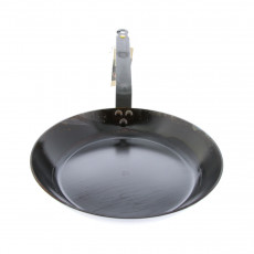 de Buyer Mineral B Pfanne 20 cm eingebrannt - Eisen mit Bandstahlgriff