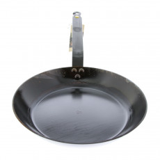 de Buyer Mineral B Pfanne 28 cm eingebrannt - Eisen mit Bandstahlgriff