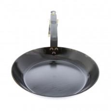 de Buyer Mineral B Pfanne 24 cm eingebrannt - Eisen mit Bandstahlgriff