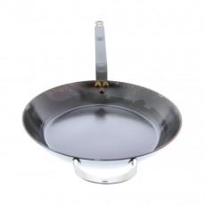 de Buyer Mineral B Pfanne 32 cm eingebrannt - Eisen mit Bandstahlgriff