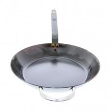 de Buyer Mineral B Pfanne 36 cm eingebrannt - Eisen mit Bandstahlgriff