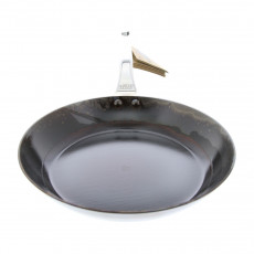eingebrannte de Buyer Mineral B Element Pro Eisenpfanne 24 cm