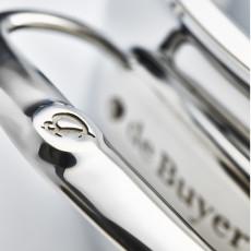 de Buyer Affinity Bratentopf nieder 24 cm / 2,6 L - Edelstahl-Mehrschichtmaterial